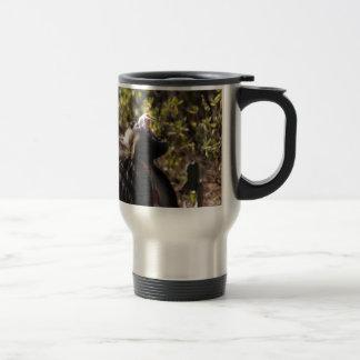 Mug De Voyage Babouin masculin de gelada (gelada de