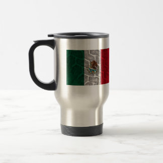 Mug De Voyage Bande de roulement de pneu de drapeau mexicain