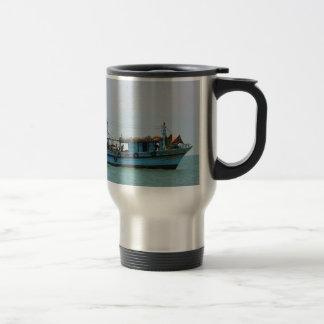 Mug De Voyage Bateau de pêche égyptien