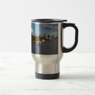 Mug De Voyage Bateaux sur la Tamise
