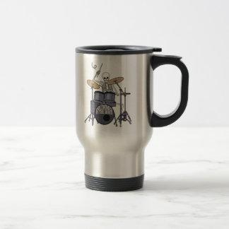 Mug De Voyage Batteur squelettique