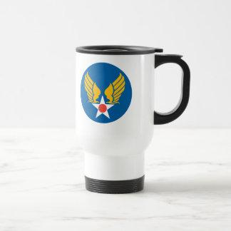 Mug De Voyage Bouclier de corps d'air d'armée