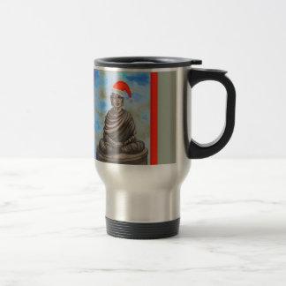 Mug De Voyage Bouddhisme - Bouddha - casquette de Joyeux Noël