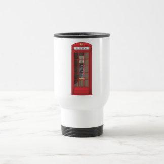 Mug De Voyage Cabine téléphonique rouge