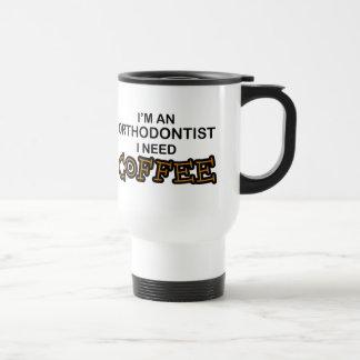 Mug De Voyage Café du besoin - orthodontiste