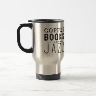 Mug De Voyage Café, livres et jazz
