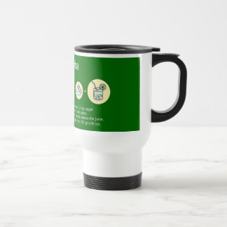 Mug De Voyage caipirinha, boisson brésilienne