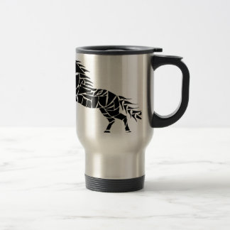Mug De Voyage Cavallerone - cheval noir