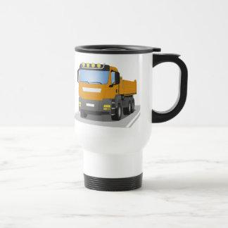 Mug De Voyage chantiers camion oranges