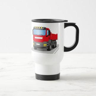 Mug De Voyage chantiers camion rouges