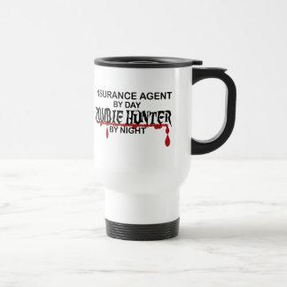 Mug De Voyage Chasseur de zombi d'agent d'assurance