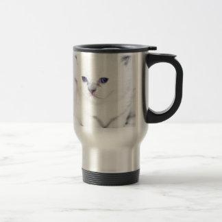 Mug De Voyage Chaton blanc doux