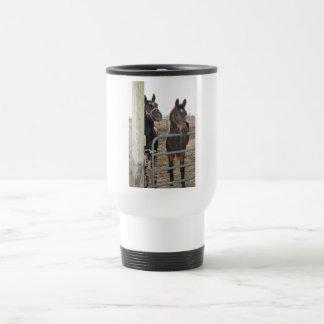 Mug De Voyage Chevaux de sens de cheval