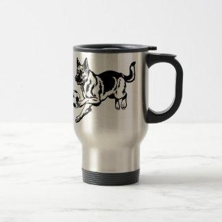Mug De Voyage chien de berger allemand