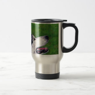 Mug De Voyage Ciel d'Inuit - chien du nord d'Inuit