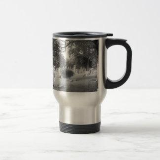 Mug De Voyage Cimetière gris