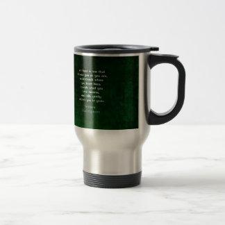 Mug De Voyage Citation inspirée d'amitié de William Shakespeare