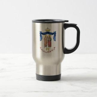Mug De Voyage COA du patriarcat orthodoxe grec d'Antioch