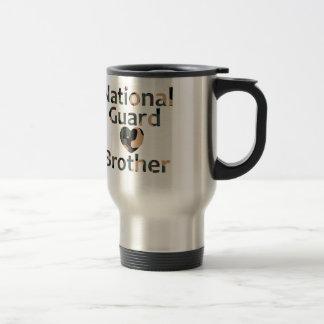 Mug De Voyage Coeur Camo de frère de garde nationale