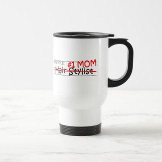 Mug De Voyage Coiffeur de maman du travail