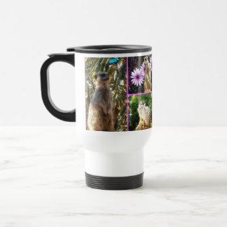 Mug De Voyage Collage de Meerkat,