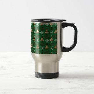 Mug De Voyage Conception de Noël