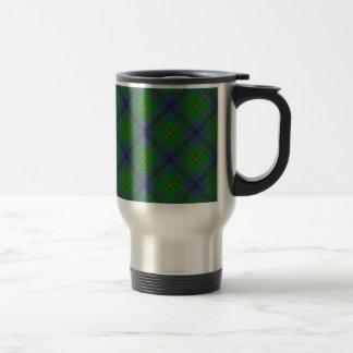 Mug De Voyage Conception écossaise de tartan de clan de