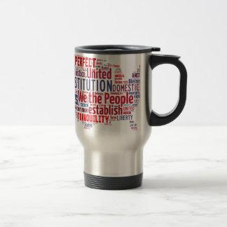 Mug De Voyage Constitution des Etats-Unis dans la forme des