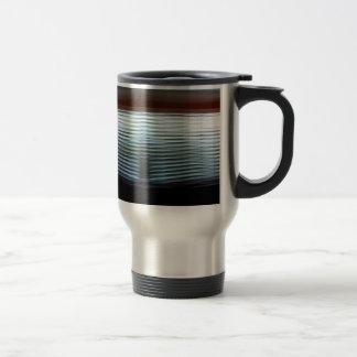 Mug De Voyage Couches fraîches abstraites de lumière