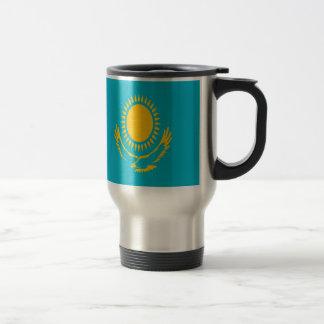 Mug De Voyage Coût bas ! Drapeau de Kazakhstan