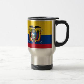 Mug De Voyage Coût bas ! Drapeau de l'Equateur