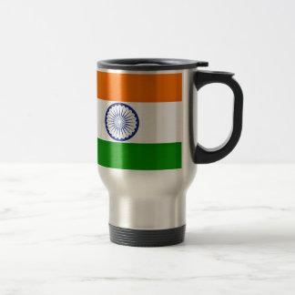 Mug De Voyage Coût bas ! Drapeau de l'Inde