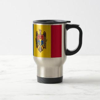 Mug De Voyage Coût bas ! Drapeau de Moldau