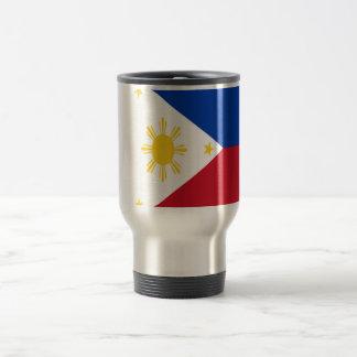 Mug De Voyage Coût bas ! Drapeau de Philippines