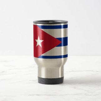 Mug De Voyage Coût bas ! Drapeau du Cuba