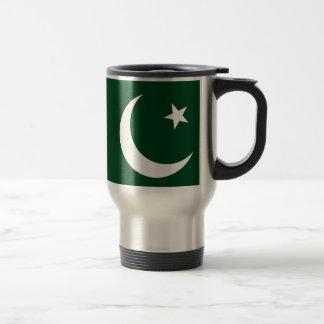 Mug De Voyage Coût bas ! Drapeau du Pakistan