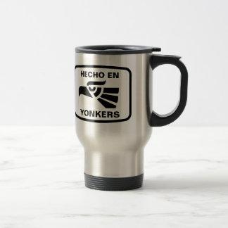 Mug De Voyage Coutume de personalizado d'en Yonkers de Hecho