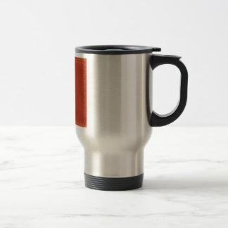 Mug De Voyage COWBOYS simili cuir rouges de concepteur