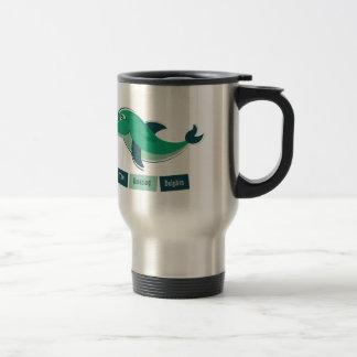 Mug De Voyage Dauphin vert
