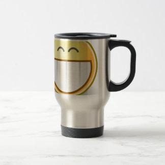 Mug De Voyage Destin souriant heureux de paix de bureau de motif
