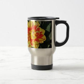 Mug De Voyage deux fleurs de ton