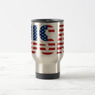 Mug De Voyage Drapeau américain personnalisable des Etats-Unis