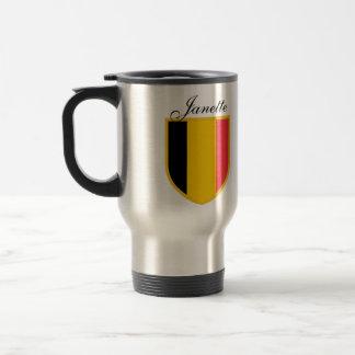 Mug De Voyage Drapeau de la Belgique