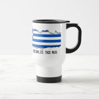 Mug De Voyage Drapeau de la Grèce
