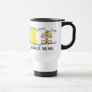 Mug De Voyage Drapeau de Ville du Vatican