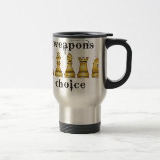 Mug De Voyage échecs, mon arme de choix