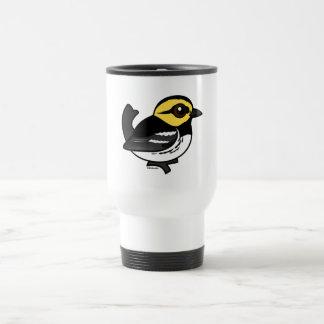 Mug De Voyage Fauvette D'or-cheeked de Birdorable