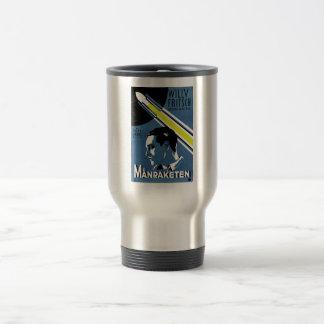 Mug De Voyage Femme dans la lune