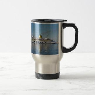 Mug De Voyage Ferry Berkane quittant le port