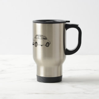 Mug De Voyage Fiat 500 Topolino